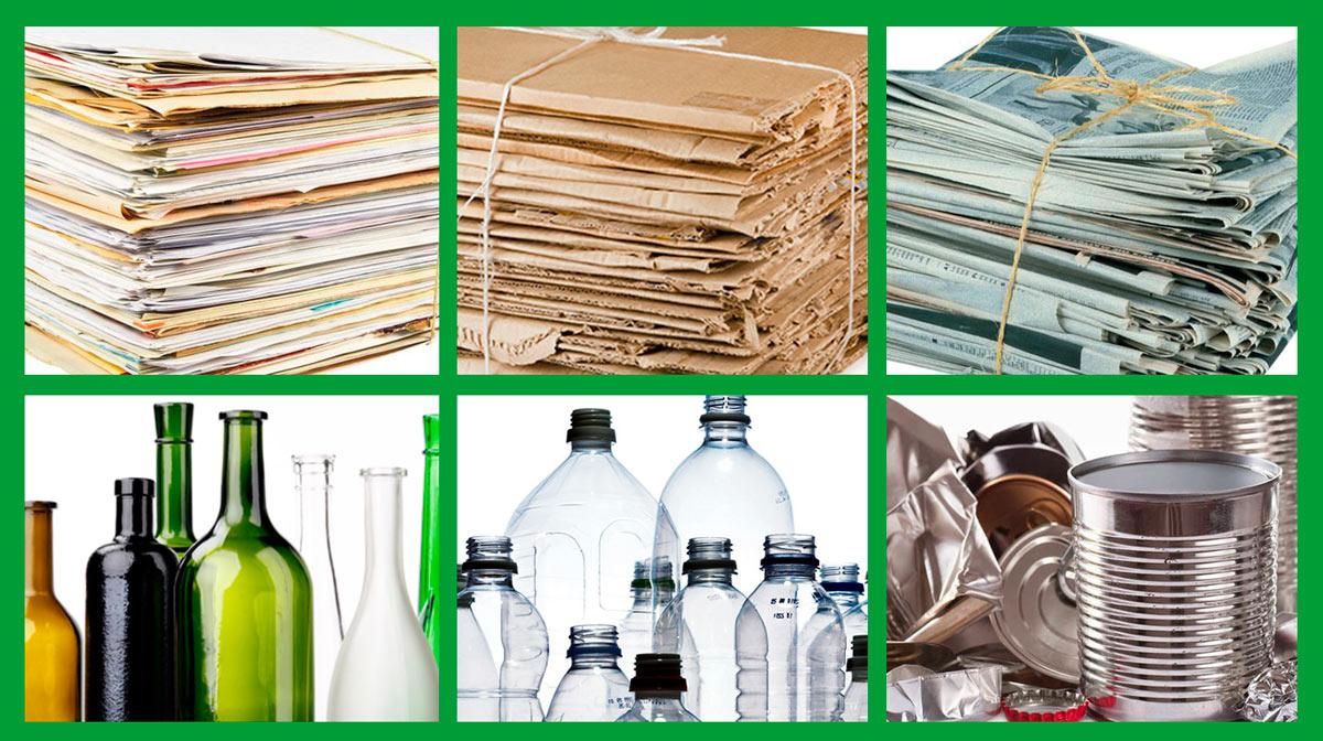 Qu materiales se pueden reciclar recimed cooperativa for Plastico para estanques artificiales