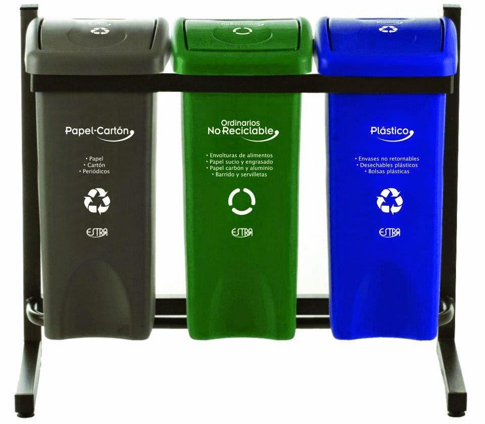 10 consejos para reciclar en el hogar thinglink - Colores para reciclar ...