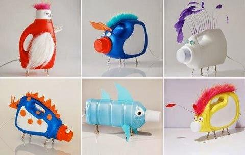 Creatividad de plástico