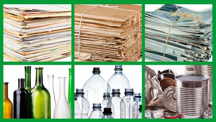 ¿Qué materiales se pueden reciclar?