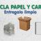 Cómo reciclar papel y cartón